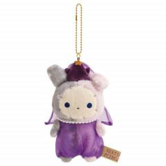 Japan San-X Sentimental Circus Keychain Plush - Spica / Spica & Black Cat