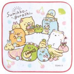 Japan San-X Petit Towel - Sumikko Gurashi / Fruit Vacation