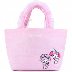 Japan Sanrio Ruffle Bag with Embroidery - My Melody