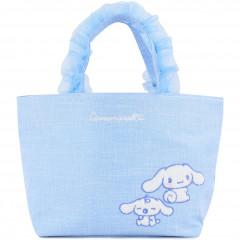 Japan Sanrio Ruffle Bag with Embroidery - Cinnamoroll