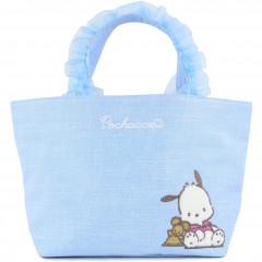Japan Sanrio Ruffle Bag with Embroidery - Pochacco