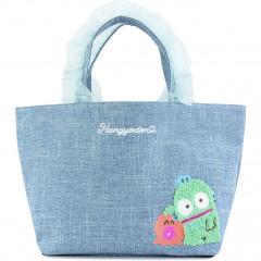 Japan Sanrio Ruffle Bag with Embroidery - Hangyodon