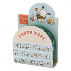 Japan Sanrio Washi Paper Masking Tape - Pochacco / Pancake
