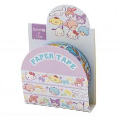 Japan Sanrio Washi Paper Masking Tape - Mix / Ribbon