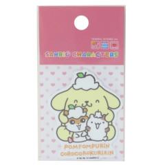 Japan Sanrio Vinyl Sticker - Pompompurin / Corocorokuririn
