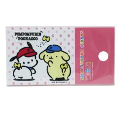 Japan Sanrio Vinyl Sticker - Pompompurin / Pochacco Butt