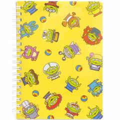 Japan Disney Twin Ring B6 Notebook - Alien / Remix