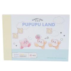 Japan Kirby Mini Notepad - Pupupu Land