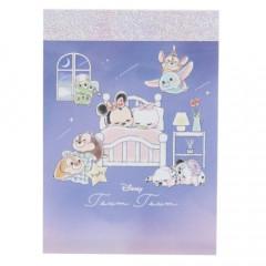 Japan Disney Mini Notepad - Tsum Tsum / Good Dream