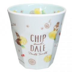 Japan Disney Melamine Cup - Chip & Dale Lemon