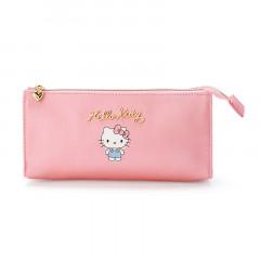 Japan Sanrio Pen Case - Hello Kitty / Smoky