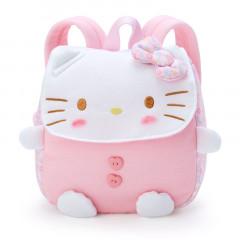 Japan Sanrio Kid Die-cut Backpack - Hello Kitty