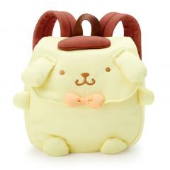 Japan Sanrio Kid Die-cut Backpack - Pompompurin