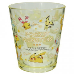 Japan Pokemon Acrylic Cup Clear Airy - Pikachu Evolution
