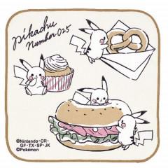 Japan Pokemon Handkerchief - Pikachu / Lunch Time