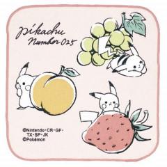 Japan Pokemon Handkerchief - Pikachu / Fruit