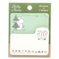 Japan Moomin Sticky Notes - Green Brown - 1