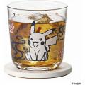 Japan Pokemon Wide Tumbler - Pikachu / Papercutting - 3