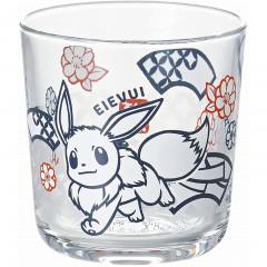 Japan Pokemon Wide Tumbler - Eevee / Papercutting