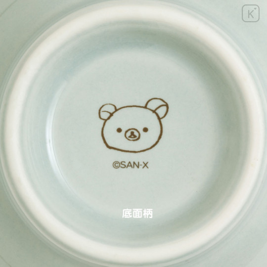 Japan San-X Rilakkuma Bowl - Blue Green - 3
