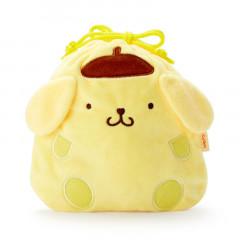Japan Sanrio Die-cut Drawstring Bag Candy Set - Pompompurin