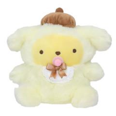 Japan Sanrio Baby Fluffy Plush Toy - Pompompurin
