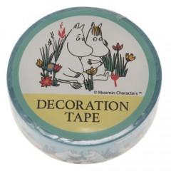 Japan Moomin Washi Masking Tape - Moomin & Floren