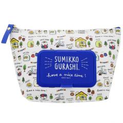Japan San-X Wet Wipe Pocket Pouch - Sumikko Gurashi A