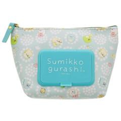 Japan San-X Wet Wipe Pocket Pouch - Sumikko Gurashi B
